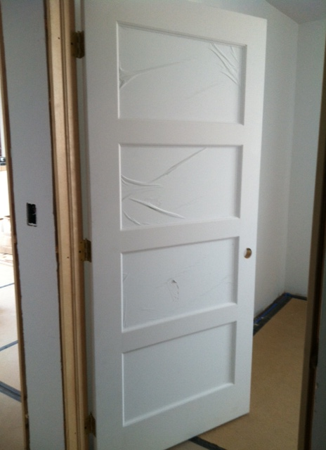 Doors are going in